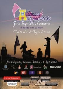 cartel Semana Renacentista 2014 Medina del Campo