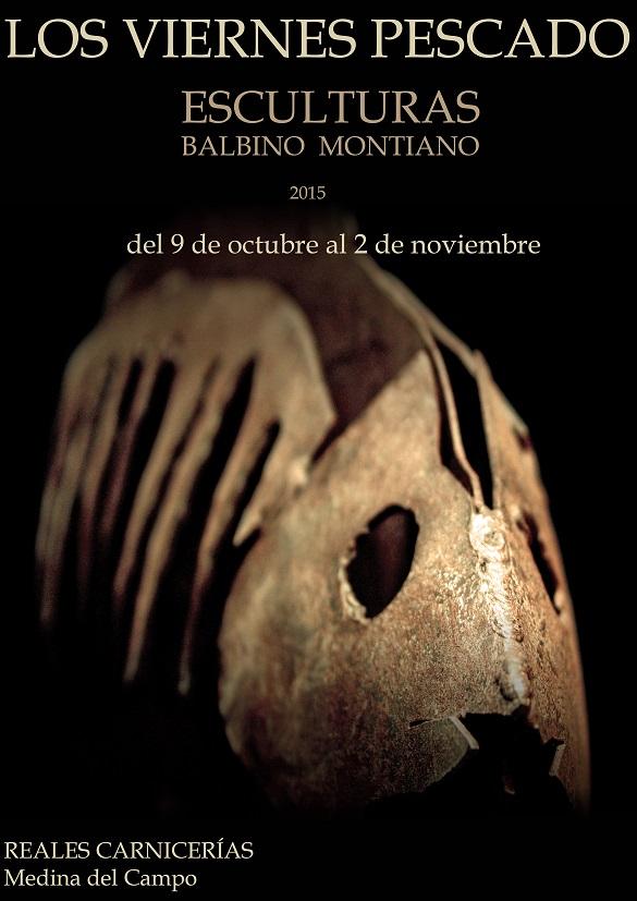 """Esculturas Balbino Montiano. """"Los viernes pescado"""""""