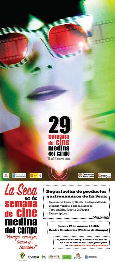 La Seca en la Semana del Cine de Medina del Campo: Verdejo, cerveza, tapas y... ¡acción!