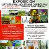 """Exposición """"Artistas Vallisoletanos con Bolivia"""""""